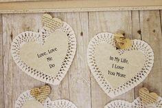 Beatles' Conversation Hearts (Miss Kopy Kat)
