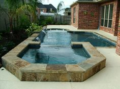 1000 images about small pool ideas on pinterest swimming pool designs custom pools and small - Pools in small spaces set ...