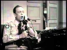 Barney Fife's love poem to lovely Wanita.