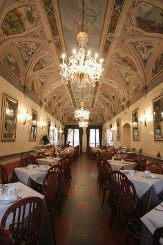 Hotel Degli Orafi, Florence,  breakfast room
