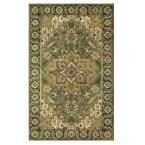 Normandie Sage (Green) 9 ft. 9 in. x 13 ft. 9 in. Area Rug