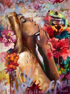 As pinturas fantasiosas de Dimitra Milan | Just Lia