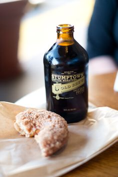 from a visit to sidecar doughnuts to have some stump town coffee