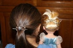 Your little princess and her little princess. Let them both shine beautifully with their Lilla Rose hair jewelry