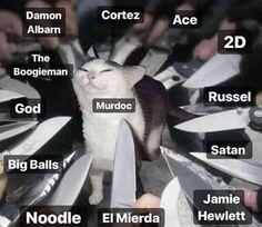Well I'm not surprised Band Memes, Dankest Memes, Funny Memes, Damon Albarn, Gorillaz Band, Murdoc Gorillaz, Sunshine In A Bag, Russel Hobbs, Monkeys Band