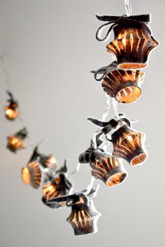 Lichterkette Eco Design - Choice  - LED garland with batteries or electric cable with  bulbs and plug