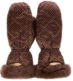 Shop Now - >  https://api.shopstyle.com/action/apiVisitRetailer?id=620089401&pid=uid6996-25233114-59 Louis Vuitton Monogram Igloo Gloves  ...
