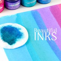 There are an enormous number of choices when it comes to inks for craft & scrapbooking projects. Different effects, different ink types, different colours, different drying times, different s Chalk Ink, Pigment Ink, Different Colors, Core, Alcohol, Things To Come, Scrapbook, Colours, Projects