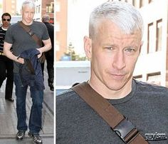 Oh, Anderson Cooper. We love everything about you , including your man-purse. Anderson Cooper, Man Purse, Happy Sunday, Nyc, Celebs, Mens Fashion, Purses, Casual, Celebrities