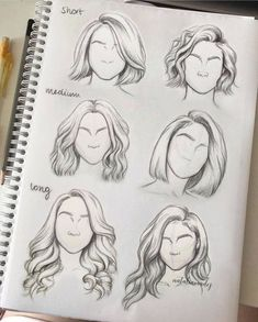 New illustration art girl sketches drawing fashion 41 ideas Hair Sketch, Sketch Art, Drawing Sketches, Drawing Drawing, Figure Drawing, Sketching, Lips Sketch, Dream Drawing, Makeup Drawing