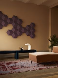 Bang & Olufsen's new wireless speaker system seamlessly clips together on your wall. B&O's BeoSound Shape is a new stylish modular wireless speaker system that looks like wall art