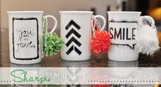 Sharpie Mug Art - Somewhat Simple