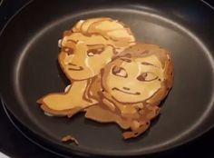 Disney Princess pancake art