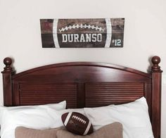 Vintage Football Sign 12×32 (or 12×48)