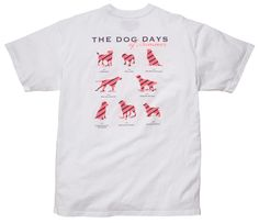 Southern Proper Dog Days of Summer Tee in White