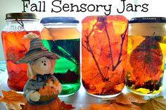 Fall Sensory Jars from Blog Me Mom