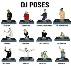 DJ poses  check out hip hop beats @ http://kidDyno.com
