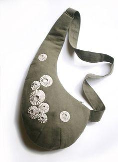 Crossbag Schnittmuster und Anleitung °Halbmond barnacles° nähen orimono - Schnittmuster und Nähanleitungen bei Makerist