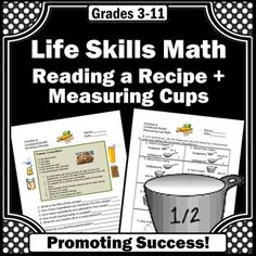 measuring cups and spoons identification worksheets special education dr who spoons and. Black Bedroom Furniture Sets. Home Design Ideas