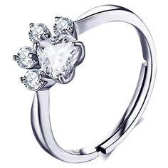 MeowPaw® Ring Cat Paw Beautiful Gold Ring Rose