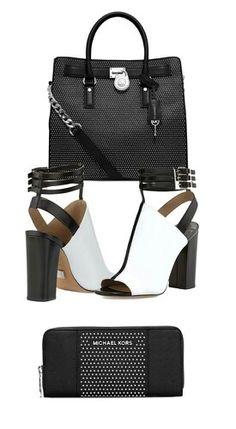 Accent your handbag with a sleek pair of Michael Kors Phaedra Peep-Toe  Booties in Optic White. 7e0c9a53fd4