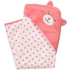 Kitty Hooded Towel