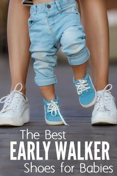 Got a baby crawling now learning to walk? Here are some early walker shoes for babies that are cruising, standing up, and trying to start walking. Moms of babies and pre-toddlers will need this.