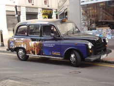 Lufthansa London taxi  by cabbie50, via Flickr