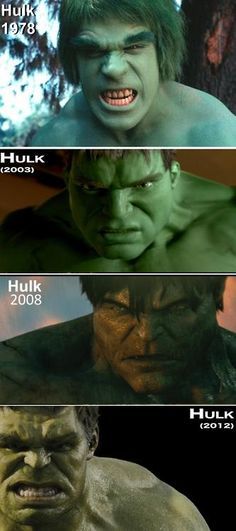 Evolution of the Hulk
