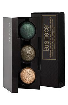 'Golden Metallic' Petite Baked Eye Colour Trio