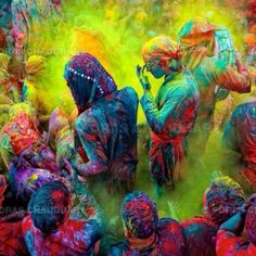 Holi color festival India