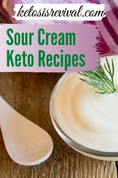 Sour cream included on a diet is absolutely unheard of until the Keto Diet came on the scene. Ketosis Revival goes into some detail to explain why sour cream actually is a good thing to add to your Keto diet meal plans. Fat supports ketosis. Once you understand this then you will be confident to include our list of sour cream-based recipes into your regular menu knowing that your weight loss goals will be achieved. Download the report here… #sourcreamrecipes #ketodiet #sourcream Best Keto Meals, Keto Recipes, Snack Recipes, Dinner Recipes, Sour Cream Biscuits, Sour Cream Muffins, Keto Meal Replacement, Keto On The Go, Creamed Beef