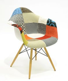 patchwork fabric armchair | more on: http://www.pinterest.com/AnkAdesign/collection-6/