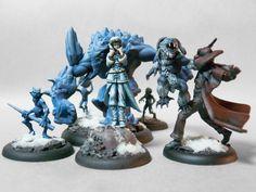 Wyrd Miniatures Malifaux Arcanists Children of December (Rasputina's crew)