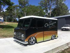 Bagged Trucks, Ford Trucks, Step Van, Old School Vans, Day Van, Small Trucks, Mobile Boutique, Cool Vans, Air Ride