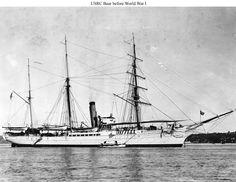 U.S. Revenue Cutter Bear just prior to WW1. The Revenue Cutter Service became the U.S. Coast Guard in 1915.