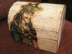 box Decoupage, Box, Handmade, Painting, Snare Drum, Hand Made, Painting Art, Paintings, Painted Canvas