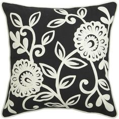 I can think of so many gorgeous themes this pillow could fit into. It is just so versatile. Black And White Pillows, Black And White Design, Black White, Pillow Fight, Pillow Talk, Church Fundraisers, Accent Pillows, Throw Pillows, Grey Room