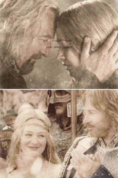"""I would have you smile again."" // Lord of the Rings"