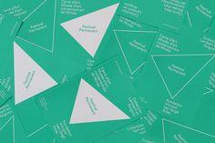 My name is — direction artistique & design graphique - Festival Permanent / Visual Identity
