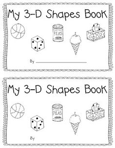 This book is the perfect way to introduce 3-D shapes in a kindergarten or first grade classroom. It uses real world objects introduce the geometry terms sphere, cone, cylinder, cube, rectangular prism and pyramids. Samantha Learning with a Happy Heart This work is licensed under a Creative Commons Attribution-NonCommercial-NoDerivs 3.0 Unported License.