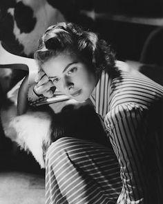 """Ingrid Bergman in """"Notorious,"""" 1946."""