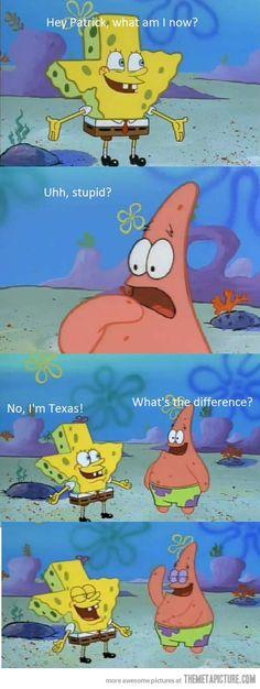 Watch it, Patrick