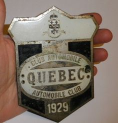 1929 Automobile Club QUEBEC