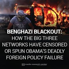 OBAMANATION.. You won't believe what the LIBERAL media has done to CENSOR Obama's deadly foreign policy. If America knew the truth about Obama's disastrous foreign policy, they would be DEMANDING truth. Repin if you agree!