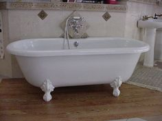 One day I will get a claw foot tub.