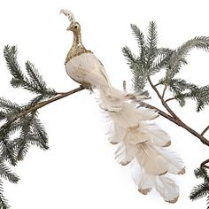 Stylish Home Decor & Chic Furniture At Affordable Prices Peacock Christmas, Christmas Bird, Christmas 2017, Christmas Ideas, Stylish Home Decor, Fall Home Decor, Bird Feathers, Christmas Decorations, Chic