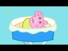 Peppa's family is staying at Cousin Chloé's house. It's been a long day and everyone is sleepy, but baby Alexander keeps everyone awake with his crying. Peppa Pig Painting, Peppa Pig Family, Season 4, Baby Toys, Rabbit, Arts And Crafts, Children, Crying, Cheesecake