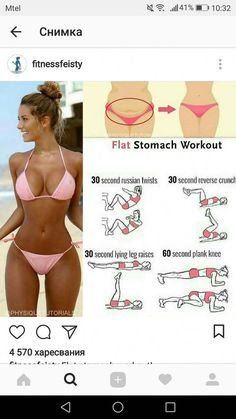 Workout For Flat Stomach, Ab Workout At Home, Abs Workout For Women, Hip Workout, At Home Workouts, Ab Workouts, Stomach Workouts, Cardio, Lifting Workouts