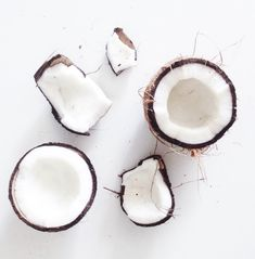 Coconut is a great source of digestion-friendly fiber--Coconut water also offers a good source of potassium, a mineral that helps balance sodium levels and regulate blood pressure! The only thing that would make drinking coconut water even better would be doing it on the beach right now..  #choosehealth #choosehappiness